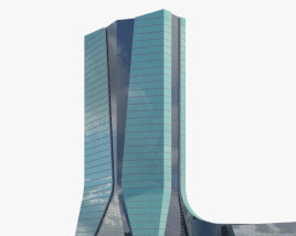 3D model of CMA CGM Tower
