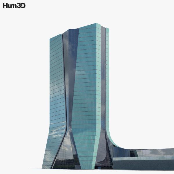 CMA CGM Tower 3D model