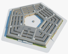 3D model of The Pentagon