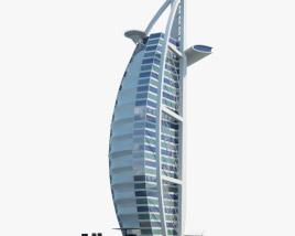 3D model of Burj Al Arab