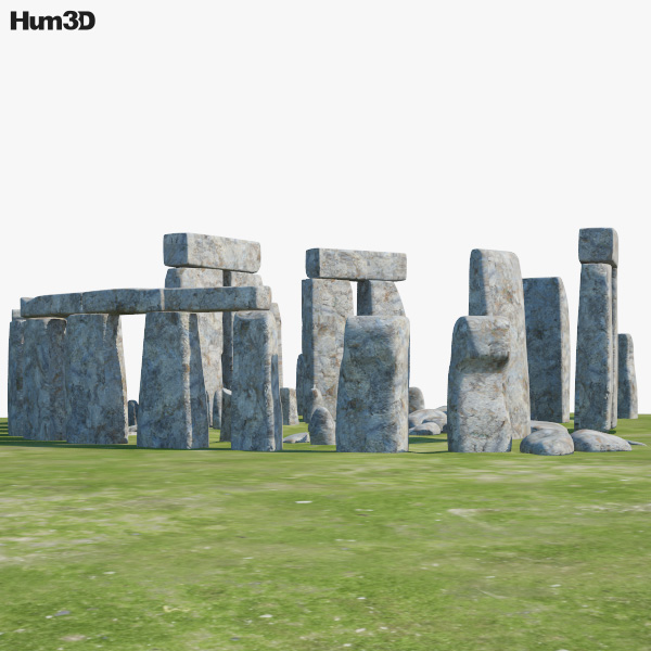 3D model of Stonehenge