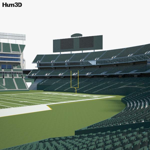 Oakland Alameda Coliseum 3D model