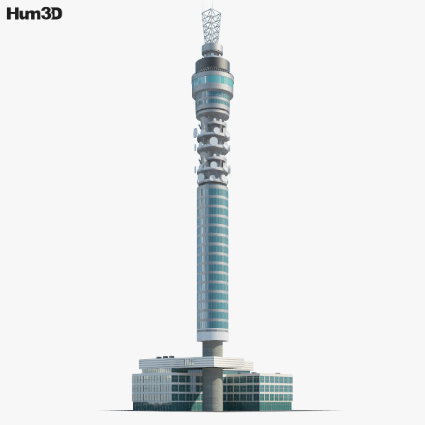 3D model of BT Tower