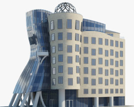 3D model of Dancing House