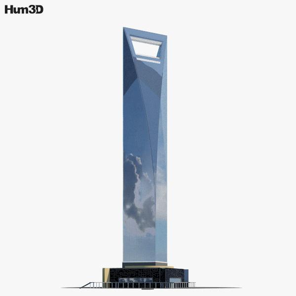 3D model of Shanghai World Financial Center
