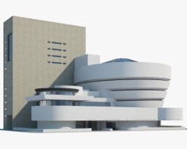 3D model of Solomon R. Guggenheim Museum