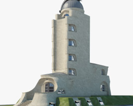 3D model of Einstein Tower