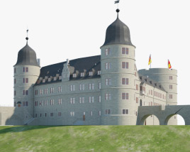 3D model of Wewelsburg