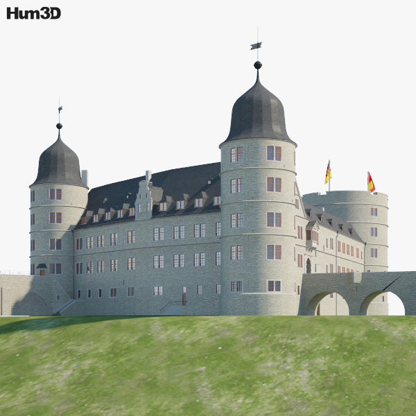 Wewelsburg Castle 3D model