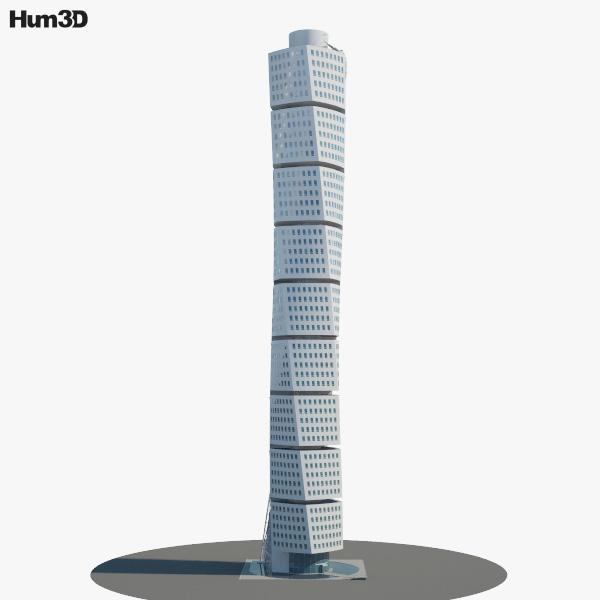 Turning Torso 3D model