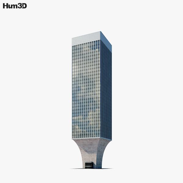 Rainier Tower 3D model