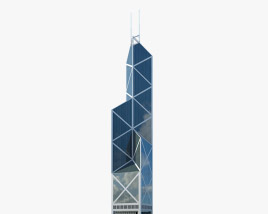 3D model of Bank of China Tower (Hong Kong)