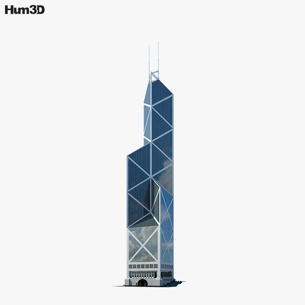 Bank of China Tower (Hong Kong) 3D model