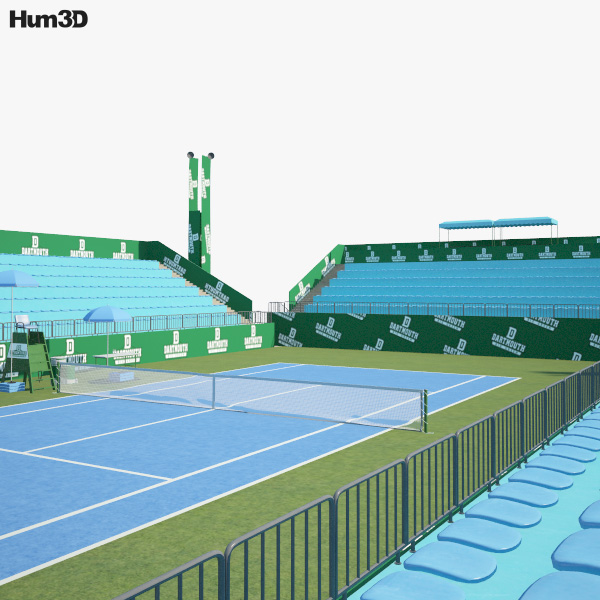 3D model of Tennis Arena