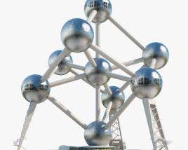 3D model of Atomium