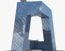 3D model of CCTV Headquarters