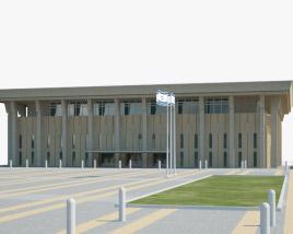 3D model of Knesset