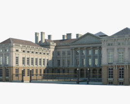 3D model of Palace of the Nation (Brussels)