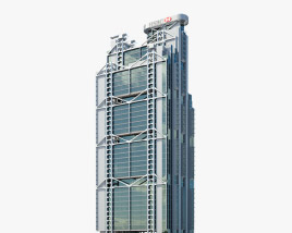 3D model of HSBC Main Building