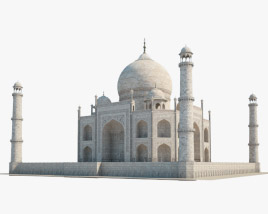 3D model of Taj Mahal