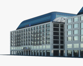3D model of Radisson Blu Hotel Berlin