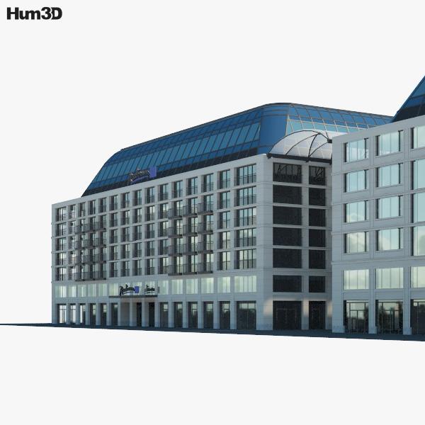 Radisson Blu Hotel Berlin 3D model