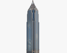 3D model of Bank of America Plaza (Atlanta)
