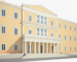 3D model of Hellenic Parliament