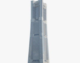 3D model of Yokohama Landmark Tower