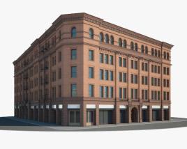 3D model of Bradbury Building