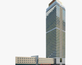 3D model of Torre Mapfre