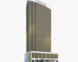Trump International Hotel Las Vegas 3D model