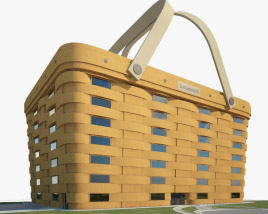 3D model of World's Largest Basket