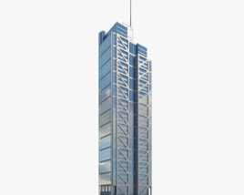 3D model of Heron Tower