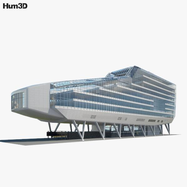 3D model of ING House
