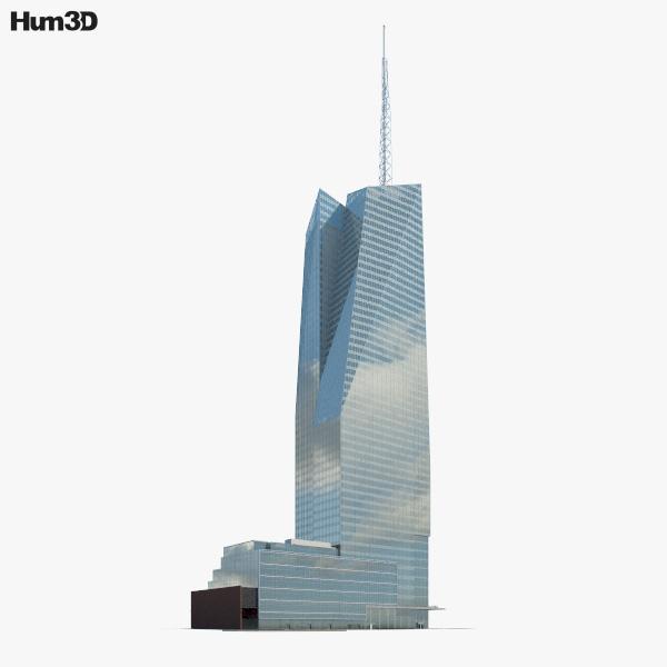 Bank of America Tower (New York City) 3D model
