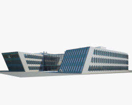 3D model of Federal Center South Building