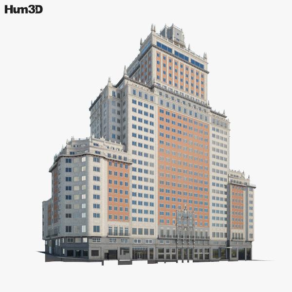 Edificio Espana 3D model