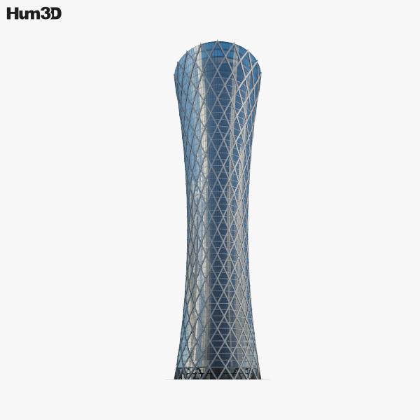 Tornado Tower 3D model