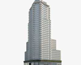 3D model of Torre de Madrid