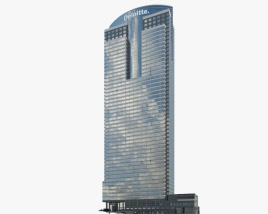 3D model of Deloitte Los Angeles