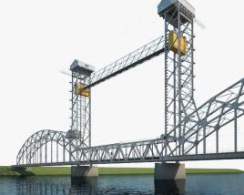 3D model of Rostov Lift Bridge