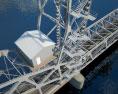 Rostov Lift Bridge 3d model