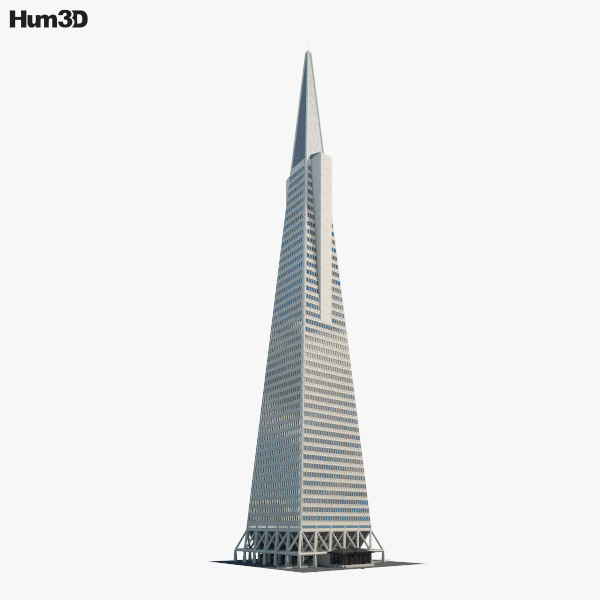3D model of Transamerica Pyramid