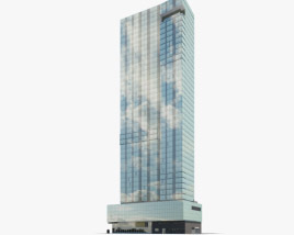 3D model of Trump SoHo New York