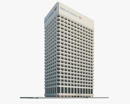3D model of Bank of America Center Norfolk