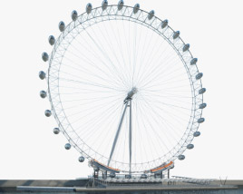 3D model of London Eye
