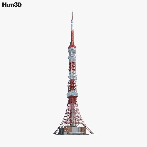 3D model of Tokyo Tower