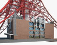 Tokyo Tower 3d model
