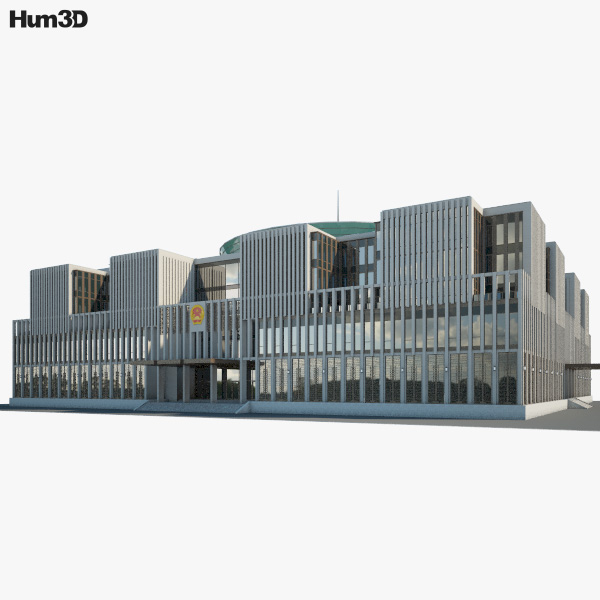 National Assembly of Vietnam 3D model